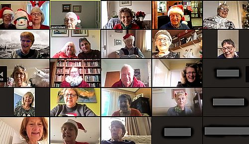 history group on zoom